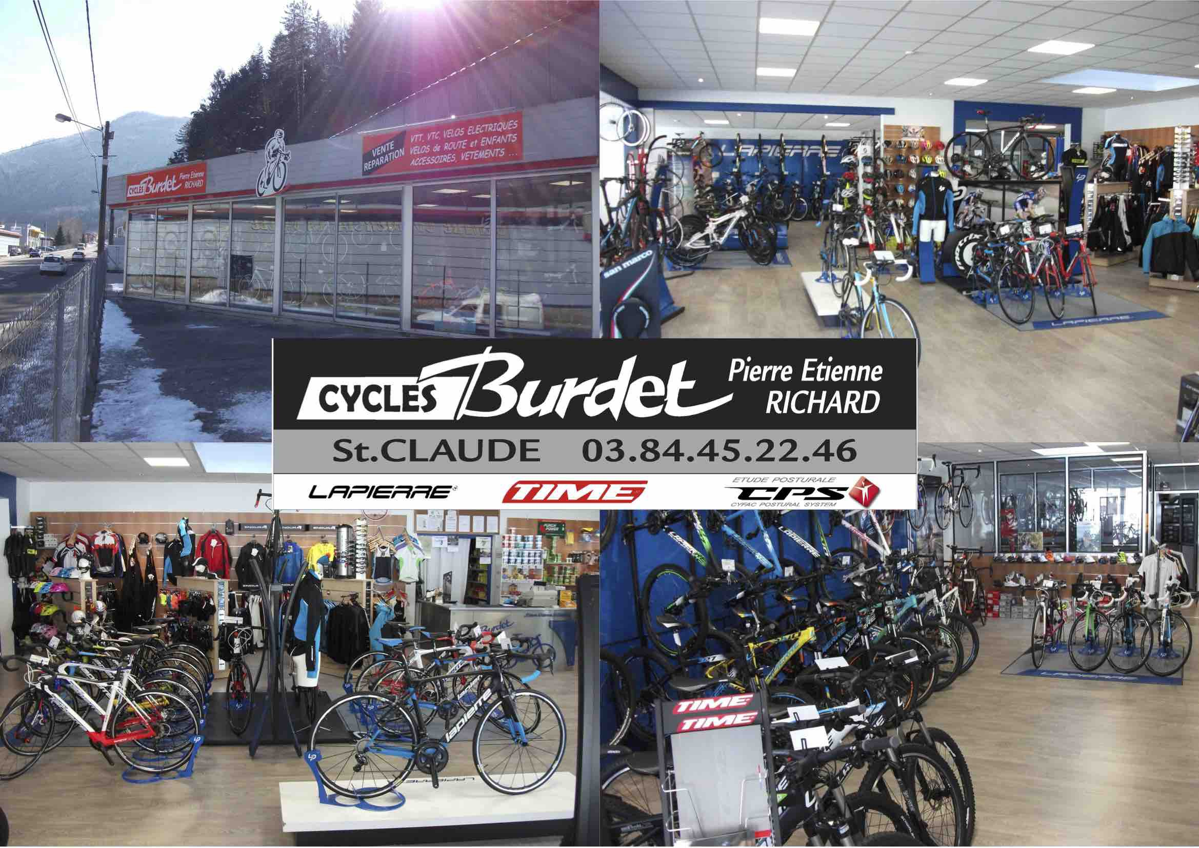CYCLES BURDET
