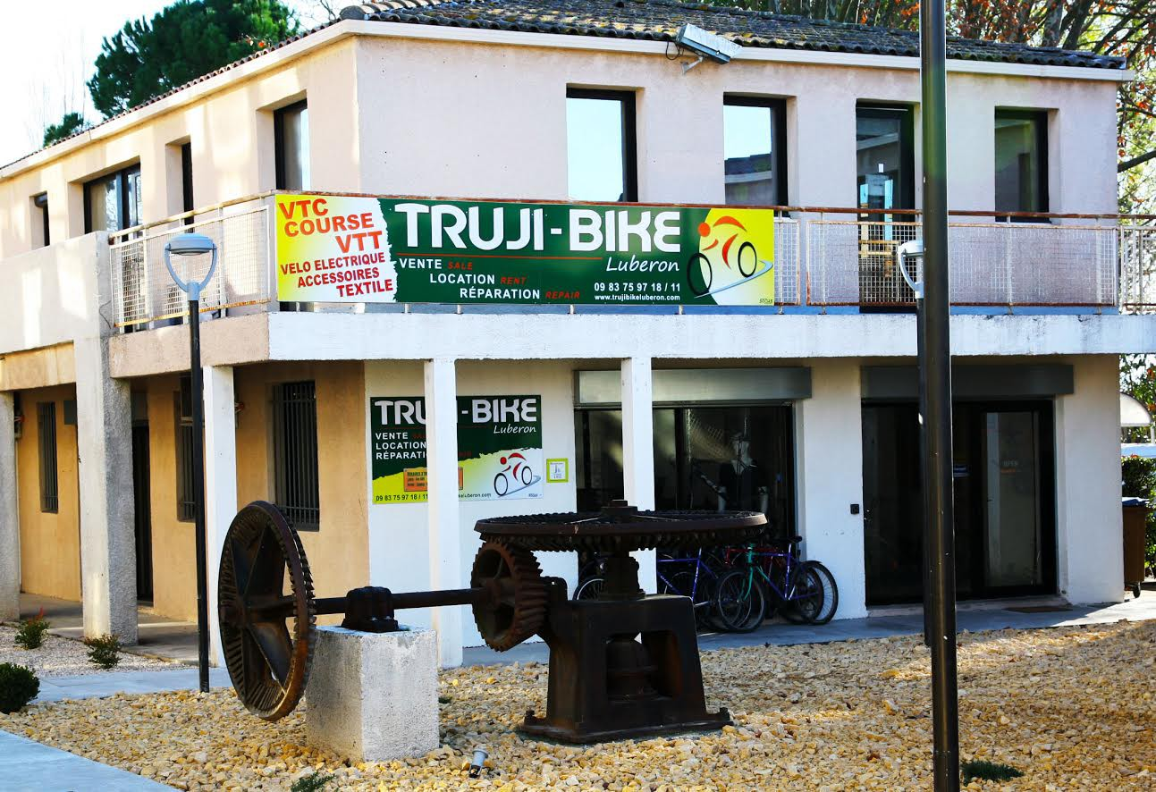 TRUJI CYCLE BIKE LUBÉRON